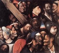 Иеронимус Босх. Несение креста. 1515-1516 гг. Музей изящных искусств. Гент.