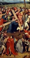 Иероним Босх. Несение креста. 1490 г. Музей истории искусства. Вена.