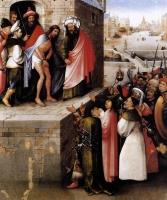 Иеронимус Босх. Ecce Homo. 1480-1485 г. Штеделевский художественный институт. Франкфурте-на-Майне.