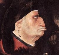 Иеронимус Босх. Несение креста. 1515-16 годы.Фрагмент