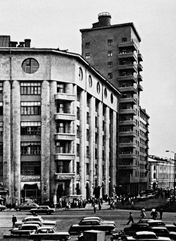 "И. Фомин. Дом ""Динамо"" в Москве. 1929 г."