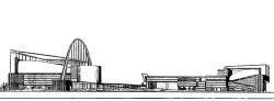 Ле Корбюзье. Конкурсный проект Дворца Советов. Второй тур. 1931 г.