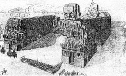 Я.Горфайн. Проект рабоче-крестьянского дворца. Середина 1920-х гг.