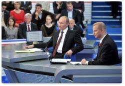 Стенограмма программы «Разговор с Владимиром Путиным. Продолжение»