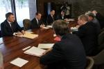 Встреча с руководителями незарегистрированных политических партий