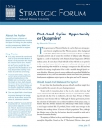 Strategic Forum №276