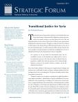 Strategic Forum №282, September 2013